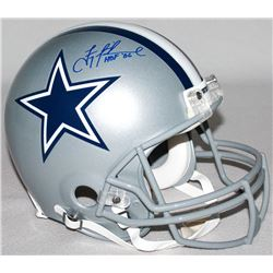"Troy Aikman Signed LE Cowboys Full-Size Authentic On-Field Helmet Inscribed ""HOF '06"" (Steiner COA)"