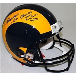 Jack Youngblood Signed Rams LE Full-Size Authentic Pro-Line Helmet With (3) Inscriptions (Steiner CO