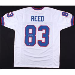 "Andre Reed Signed Bills Jersey Inscribed ""HOF 14"" (SGC COA)"
