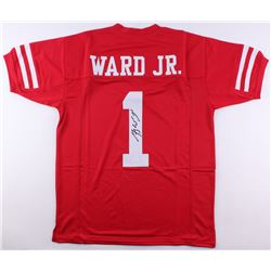 Greg Ward Signed Houston Cougars Jersey (JSA COA)