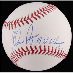 "Nolan Ryan Signed OML Baseball Inscribed ""'69 W.S. Champs"" (JSA COA  Ryan Hologram)"