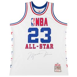 Michael Jordan Signed 1985 NBA All Star Authentic Mitchell  Ness Jersey (UDA COA)