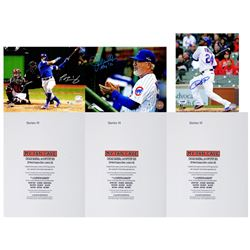Chicago Cubs Signed Mystery Box 8x10 Photo - 2016 World Champions Edition – Series 3 (Limited to 3