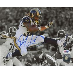 Todd Gurley Signed Rams 8x10 Photo (PSA COA)