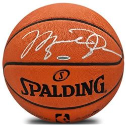Michael Jordan Signed Official NBA Game Ball (UDA Hologram)