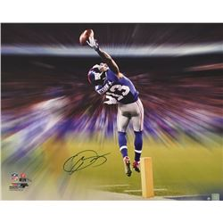 "Odell Beckham Jr. Signed Giants ""The Catch Motion Blast"" 22x26 Limited Edition Photo on Canvas (Stei"
