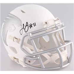 Julio Jones Signed Falcons ICE Mini-Helmet (JSA COA)