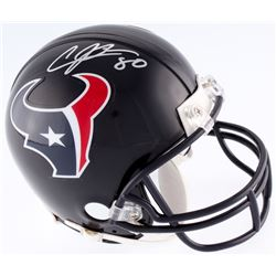 Andre Johnson Signed Texans Mini-Helmet (JSA COA)