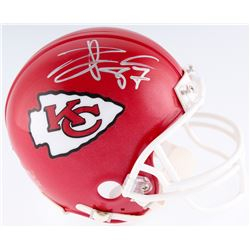 Travis Kelce Signed Chiefs Mini Helmet (JSA COA)
