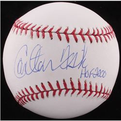 "Carlton Fisk Signed OML Baseball Inscribed ""HOF 2000"" (FSA COA)"