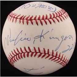 Sachio Kinugasa  Masanori Murakami Signed OAL Baseball With (2) Inscriptions (FSC COA)
