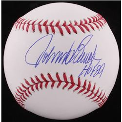 "Johnny Bench Signed OML Baseball Inscribed ""HOF 89"" (JSA COA)"
