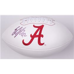 Eddie Lacy Signed Alabama Crimson Tide Logo Football (JSA COA)