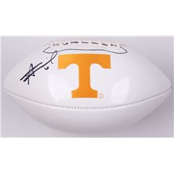 Alvin Kamara Signed Tennessee Volunteers Logo Football (JSA COA)