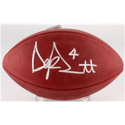 "Dak Prescott Signed ""The Duke"" Official NFL Game Ball (JSA COA)"
