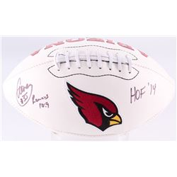 "Aeneas Williams Signed Cardinals Logo Football Inscribed ""HOF '14"" (Jersey Source COA)"