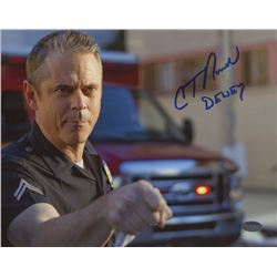 "C. Thomas Howell Signed ""Southland"" 8x10 Photo Inscribed ""Dewey"" (Schwartz COA)"