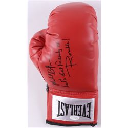 "Michael Buffer Signed Boxing Glove Inscribed ""Let's Get Ready to Rumble!"" (JSA COA)"