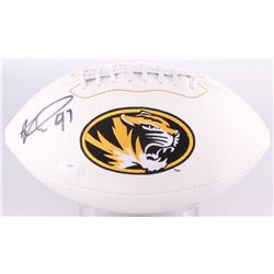 Kony Ealy Signed Missouri Tigers Logo Football (Radtke Hologram)