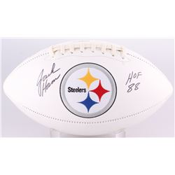 "Jack Ham Signed Steelers Logo Football Inscribed ""HOF 88"" (Radtke COA)"