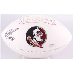 Devonta Freeman Signed Florida State Seminoles Logo Football (Radtke Hologram)