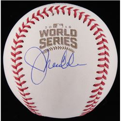 Joe Maddon Signed 2016 World Series Baseball (Beckett COA)