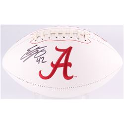 Eddie Lacy Signed Alabama Crimson Tide Logo Football (GTSM Hologram)