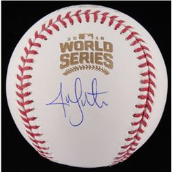Jon Lester Signed 2016 World Series Baseball (Schwartz Sports COA)