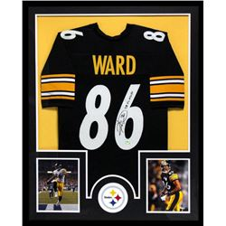 "Hines Ward Signed Steelers 34x42 Custom Framed Jersey Inscribed ""SB XL MVP"" (Radtke COA)"