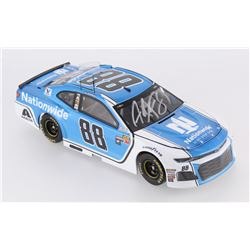 Alex Bowman Signed NASCAR #88 Nationwide 2018 Camaro 1:24 Premium Action Diecast Car (PA COA)
