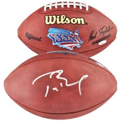 Tom Brady Signed Authentic Super Bowl XXXVI NFL Football (Tristar)