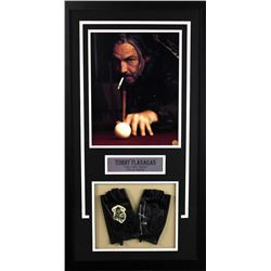 "Tommy Flanagan Signed ""Sons of Anarchy"" 18x33 Custom Framed Glove Display (Radtke COA)"