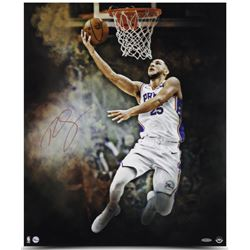 "Ben Simmons Signed 76ers ""Reverse"" 20x24 Photo (UDA)"