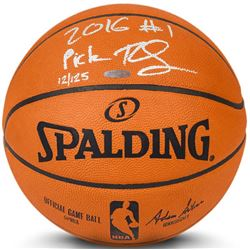 "Ben Simmons Signed LE Basketball Inscribed ""2016 #1 Pick"" (UDA COA)"