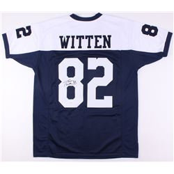 Jason Witten Signed Cowboys Thanksgiving Jersey (Witten Hologram)