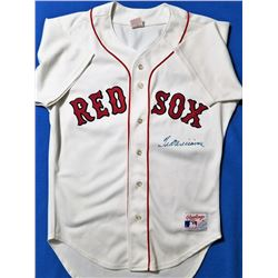 Ted Williams Signed Red Sox Rawlings Jersey (Williams COA)