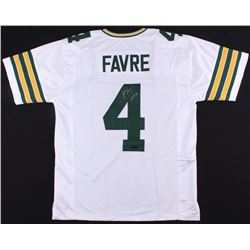"Brett Favre Signed Packers Jersey Inscribed ""HOF 16"" (Favre COA)"