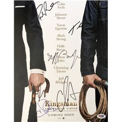 """Kingsman: The Golden Circle"" 11x14 Photo Cast-Signed by (6) with Halle Berry, Channing Tatum, Pedro"