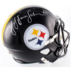 JuJu Smith-Schuster Signed Steelers Full-Size Helmet (JSA COA)