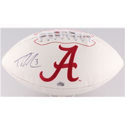 Trent Richardson Signed Alabama Crimson Tide Logo Football (Radtke COA)