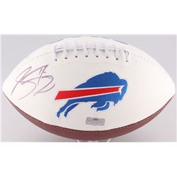Sammy Watkins Signed Bills Logo Football (Radtke Hologram)