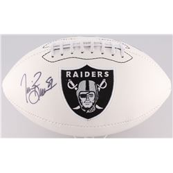 Tim Brown Signed Raiders Football (Radtke COA)
