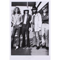 """The Hulton Archive - Led Zeppelin """"Get the Led Out"""" Artist Proof 15.75x22.75 Fine Art Giclee on Pape"""