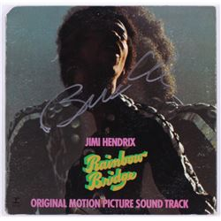Billy Cox Signed  Jimi Hendrix- Rainbow Bridge  Vinyl Record Album Cover (JSA COA)
