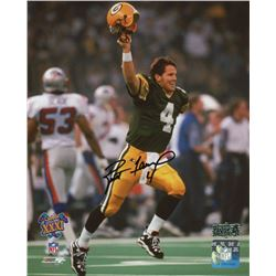 Brett Favre Signed Packers 8x10 Photo (Radkte COA)