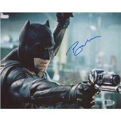 "Ben Affleck Signed ""Justice League"" 8x10 Photo (Beckett COA)"