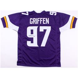 "Everson Griffen Signed Vikings Jersey Inscribed ""BG"" (TSE COA)"