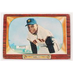 1955 Bowman #184 Willie Mays