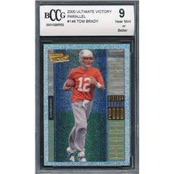 2000 Ultimate Victory #146 Tom Brady RC (BCCG 9)