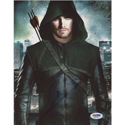"Stephen Amell Signed ""Arrow"" 8x10 Photo (PSA COA)"